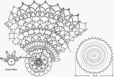 Circular and Oval Doily Patterns. More Patterns Like This!