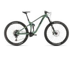 Cube Stereo 170 Race 29 green´n´sharpgreen from the category Enduro Picture 1 Full Suspension, Big Wheel, Trail Riding, Cube, Racing, Green, Shop, Biking