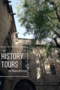 With over 2000 years of history Barcelona is a fascinating place. So what better way to discover it than by joining one of these history tours in Barcelona! Wanderlust Travel, Us Travel, Barcelona Travel, Places In Europe, We Run, Seville, Continents, Travel Guides, Night Life