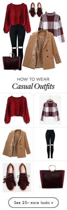 """""""Untitled #4290"""" by sweetyincago on Polyvore featuring Henri Bendel, Chicwish and David Yurman"""