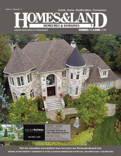 -- Volume 7 Issue 11 -- Homes&Land Demeures & Domaines by Claudette Boiteau et Jean-Sebatioen Boiteau