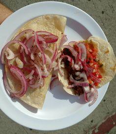 [OC][3024x4032] Handmade tortilla Mexican street food.
