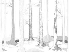 In the Forest lives... | R50104 | Fotobehang | Rebel Walls de Nederland