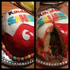 Kinder Surprise Cake :)