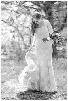 Pure Elegance - Modest Wedding Gown I REALLY HOPE I COULD WEAR A DRESS JUST LIKE THIS! Favorite one!