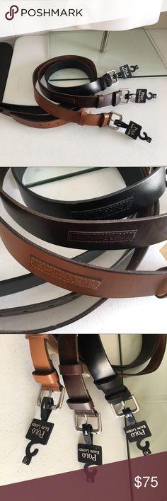 Polo Ralph Lauren belts Set of 3 belts Polo by Ralph Lauren Accessories Belts