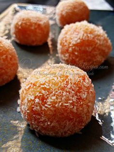 Microwave Recipe, Carrot Rava Ladoo, Indian Vegetarian, Sweet, Festive Sweet,Semolina Ladoo