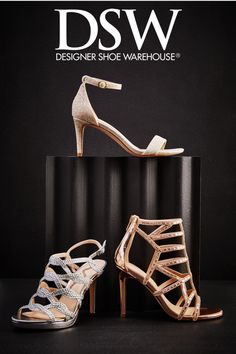 Wedding season just got more glam with new styles of fashion forward footwear from DSW! Visit DSW.COM to shop the styles because any season can be wedding season!