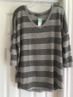 **Careen V-Neck Dolman from Market & Spruce** Love the black/grey and it's a V Neck! The Corinna was much too long on me so hoping this might work