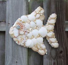 Angel Fish Wall Hanging Seashells