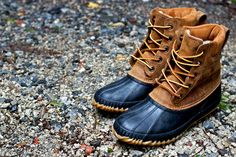 duck boots:  I'm wanting a pair of these.  I don't know why