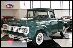 1959 Ford F-100 pickup..  Maintenance/restoration of old/vintage vehicles: the material for new cogs/casters/gears/pads could be cast polyamide which I (Cast polyamide) can produce. My contact: tatjana.alic@windowslive.com