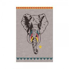Circus Elephant Rug - Rugs & Animal Skins - Home Accents