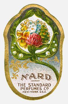 Vintage Perfume Labels - Etichette Vintage di Profumi