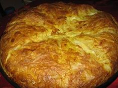 Placinta cu branza sarata si bere - imagine 1 mare Romanian Food, I Foods, Cookie Recipes, Tart, Cheesecakes, Food And Drink, Sweets, Bread, Snacks