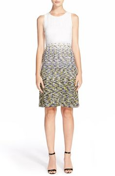 St. John Collection Villa Lysis Knit Dress available at #Nordstrom