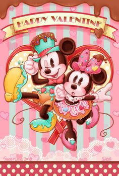 Imagem de mickey mouse, disney, and minnie mouse
