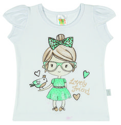 Baby Clothing - Catalog: 2014 Cruise Line.   Name: Lovely Friend Outfit. Available in 3 colors with matching bottoms containing a polka dot pattern.