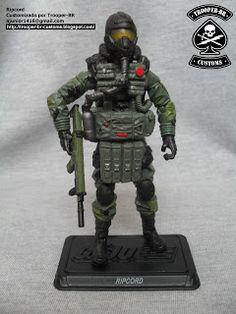 Gi joe Custom Action Figures: Ripcord 30th - Airborne Trooper