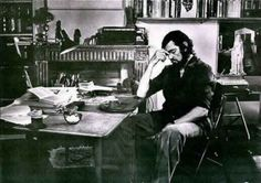 Argentinian novelist Julio Cortazar with a Smith-Corona typewriter. Marguerite Duras, Cinema, Writers Write, Cat People, Comic Book Artists, Great Stories, Screenwriting, Book Authors, Pictures Of You