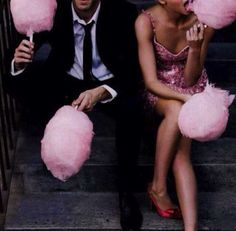 love is cotton candy