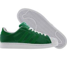 Adidas Superstar II (fairway / white). $74.99