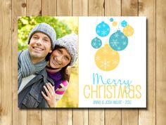 Custom Holiday Photo Card - Merry Christmas - Style 7
