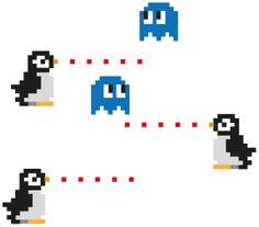 pinguini e meduse acerrimi nemici (hama)