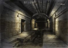 Sewers tunnels waterways background reference