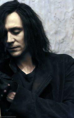 "Velvet Darkness ~ Tom Hiddleston as a Vampire from movie  ""Only Lovers Left Alive""."