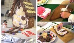Nanny Anita's Festive Gingerbread House