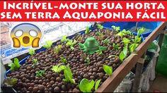 Incrível Produza sua Horta sem terra, através de resíduos dos peixes Aqu...