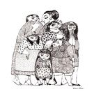 My funny Family Collection on Society6.