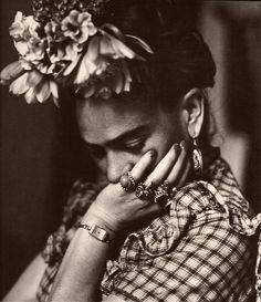 Frida in Repose    Photograph by Sylvia Salmi.