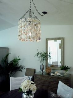 Using oyster shells for decorating