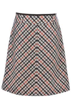 #Strenesse #GabrieleStrehle #skirt #kariert #vintage #secondhand #fashion #outlet #onlineshop #mymint