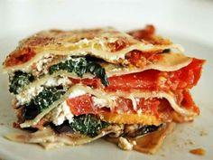 Lasaña vegetariana: una receta a base de verduras del tradicional plato italiano.