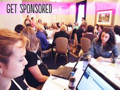 how to get a blog conference sponsorship
