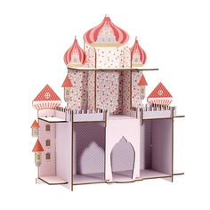 Th me d co f e princesse on pinterest art for kids bebe for Etagere murale chambre bebe