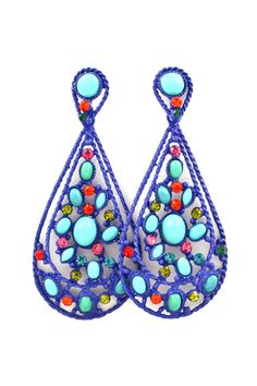 Amria Statement Earrings on Emma Stine Limited