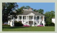 Evergreen Plantation, Edgard, Louisiana....the most complete intact plantation left in Louisiana.