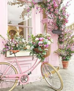 I'mma have to get this bike, do the flowers and wear a edgey outfit and ride everywhere