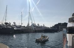 Superyachts at 2017 Monaco Yacht Show Monaco Yacht Show, Marines, Sailing Ships, Boat, Marketing, Pictures, Photos, Dinghy, Boats