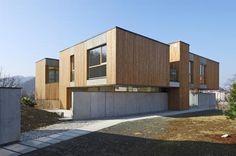 Minimalist Villa Design on Rocky Slope, Rock Villas by Arhitektura Krusec