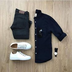Moda Hombre Casual Ideas Outfit Grid 26 New Ideas Casual Outfits, Men Casual, Fashion Outfits, Fashion Sale, Paris Fashion, Fashion Fashion, Runway Fashion, Fashion Black, Summer Outfits