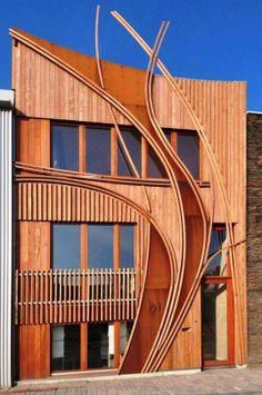 Modern Wooden House Exterior Design - Real House Design