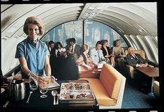 BOAC 747 Monarch lounge