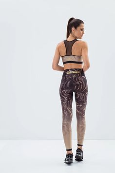 Labellamafia Floral Gold Top – DXHIVE Vanity Top only! We do have the matching pants in stock. A beautiful top with a floral and gold pattern. #dxhivevanity#labellamafia#sportandfashion#pants#sportswear#casualwear#labellamafialeggings#legging#sport#fitness #sportstop#fitnessgirl#topleggings#florallegging #leggingforgym#leggingforyoga#yoga#gym#sexygirl#gymsportswear#yougawear#floralandgold#