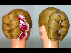 Turned out beautiful!  DIY video on an elegant but everyday hairstyle with hairspray and bobby pins for med/long hair!