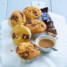 snicker muffins www. Tea Recipes, Sweet Recipes, Baking Recipes, Sweet Cupcakes, Cupcake Cookies, High Tea Food, Finger Sandwiches, Different Cakes, Food Cravings